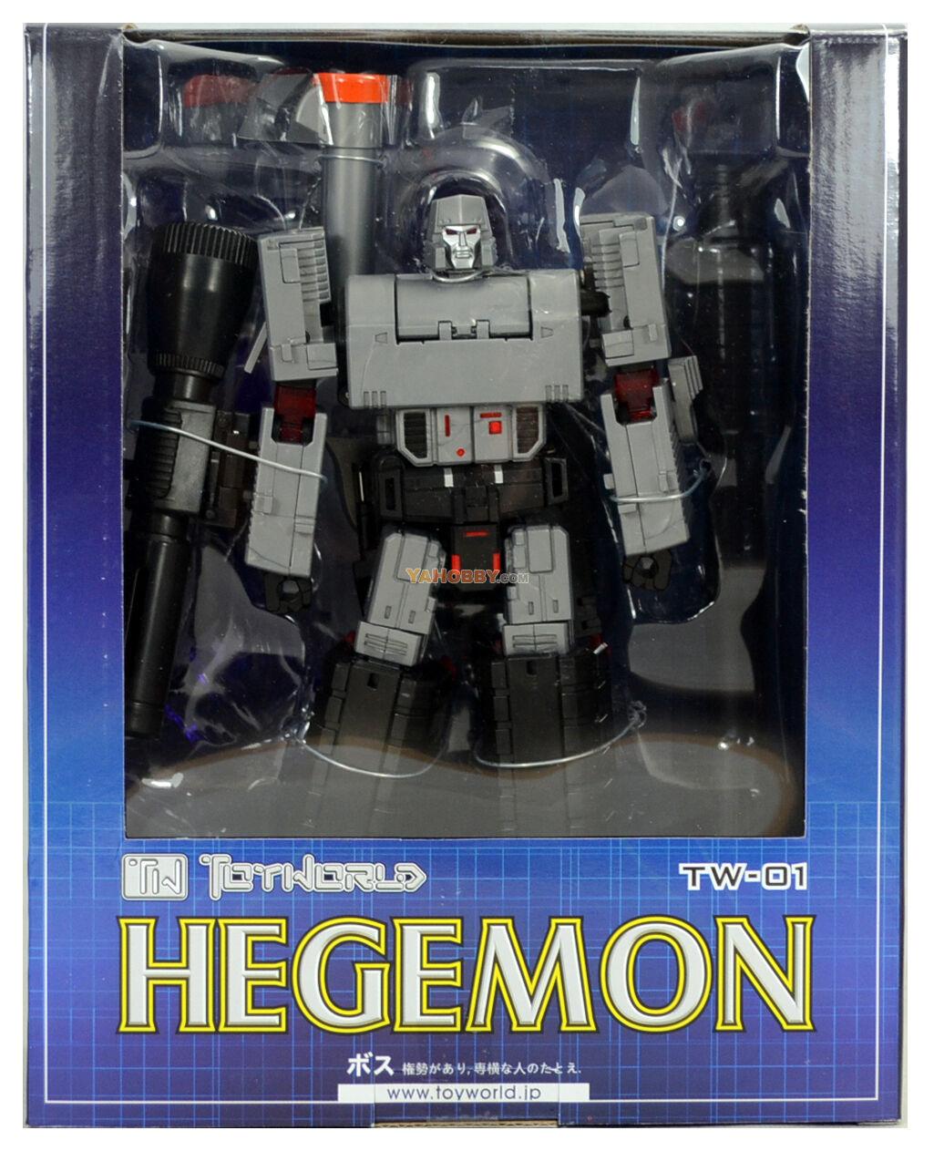 Toyworld TW-01 HEGEMON  Transformers MEGATRON G1 Decepticon MP SEALED misb