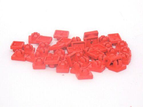 PLAYMOBIL® 25 Verbinder 30096900 rot Steckverbinder System Clip Ersatzteil
