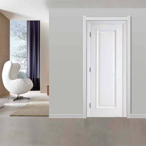 3D Ash And White Door Wall Sticker Decals Self Adhesive Mural Scenery Home Décor