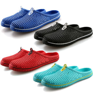 829f95612e9b Mens Womens Slippers Garden Clogs Shoes Summer Beach Walking Sandals ...