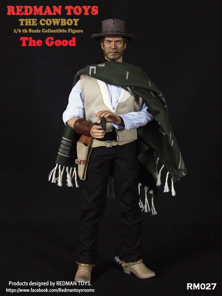 rojoman TOYS 1 6 el vaquero la buena Clint Eastwood Figura De Colección iminime