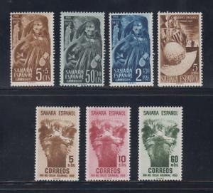 SAHARA-ESPANA-ANO-1952-NUEVO-COMPLETO-MLH-SPAIN-EDIFIL-94-100