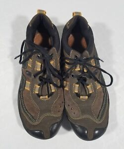 4 Eur Up About Women's Geox Respira Us Lace Sneakers 36 Brown Leather Details Size Suede ZPukXOiT