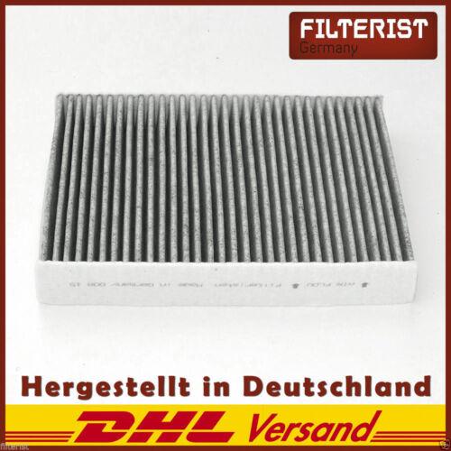 Filteristen Innenraumfilter Aktivkohle für Ford Fiesta V Van Fusion JH/_, JD/_