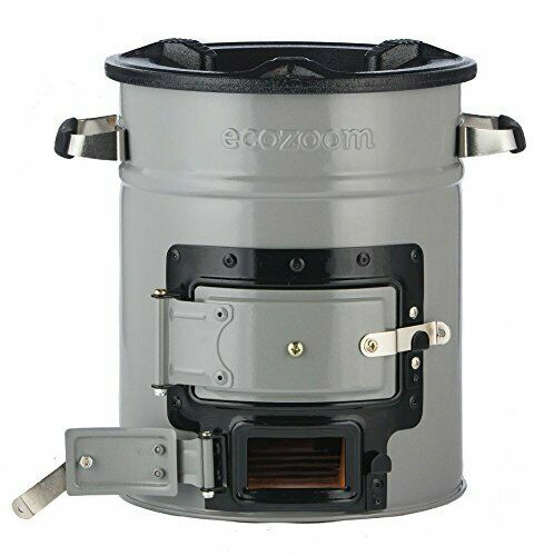 Portable Wood Burning Survival Charcoal Camp Stove for campeggio all'aperto e RV