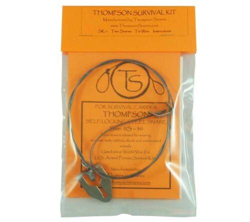 Thompson Collets Sk1 survie Snare Kit 2 Collets pour petit jeu