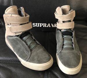 Supra Society Terry Kennedy Pro Model Grey warm Grey Suede US Size 6 ... 94ad5de35330