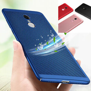 Details about For Xiaomi Redmi Note 5 Pro 4X 6 Breathable Anti-Hot  Protective Hard Case Cover