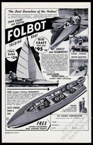 1954-Folbot-folding-boat-4-photo-vintage-print-ad