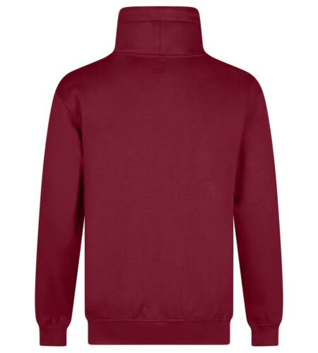 Details about  /Mens Plain Funnel Neck Jumper Drawcord Turtle Roll Neck Casual Style Fashion