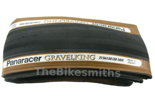 "1or 2Pak Panaracer GravelKing 27.5/"" x 1.5// 1.75// 1.90 Bike Tire Gravel King 650B"