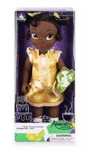 """Disney Store Tiana Animator's Collection Doll 16"""" Princess and the Frog NEW ed."""