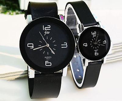 2pcs Men Women Couple Models Quartz Wrist watch for Valentine Lover's Gift