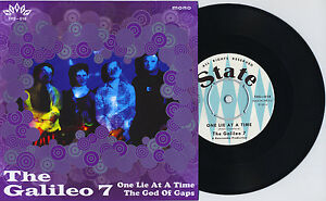 THE-GALILEO-7-One-Lie-At-A-Time-vinyl-7-034-CD-Prisoners-Solarflares-Embrooks