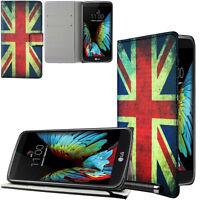 LG K7 / X210 Tasche Schale Schutzhülle Case Cover OLD BRITAIN +Folie