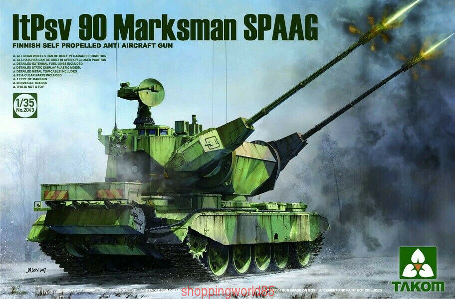 Takom 2043 1 35 ItPsv 90 Marksman SPAAG