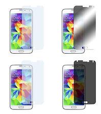 4 x Samsung Galaxy S5 Klar + Matt + Spiegel + Blickschutz Displayschutz Folie