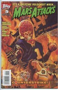 Mars Attack #5 Topps Comics January Jan 1996 (VF)