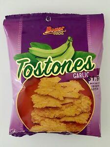 Bemar Snacks Tostones Garlic 24 Bags Ebay