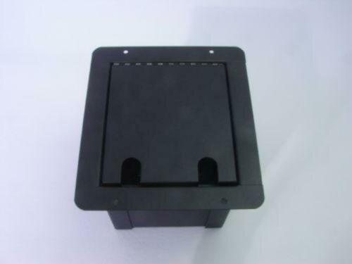 ProCraft Pro Audio Recessed Pocket Floor Box.1 AC Power 2 Channel Any Config