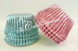 Foil-Cupcake-Muffin-cases-Baby-Pink-and-Baby-Blue-or-combination-colour-quantity