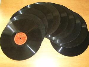 Mechanische Musik Grammophone 78rpm Record Fest In Der Struktur WohltäTig 10 X Rudi Schuricke Auf Schellackplatten 78n Schellack Grammophon+