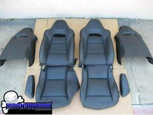 Marvelous 14 17 Gm Chevy Corvette Z06 C7 Oem Black Leather Seats Ocoug Best Dining Table And Chair Ideas Images Ocougorg