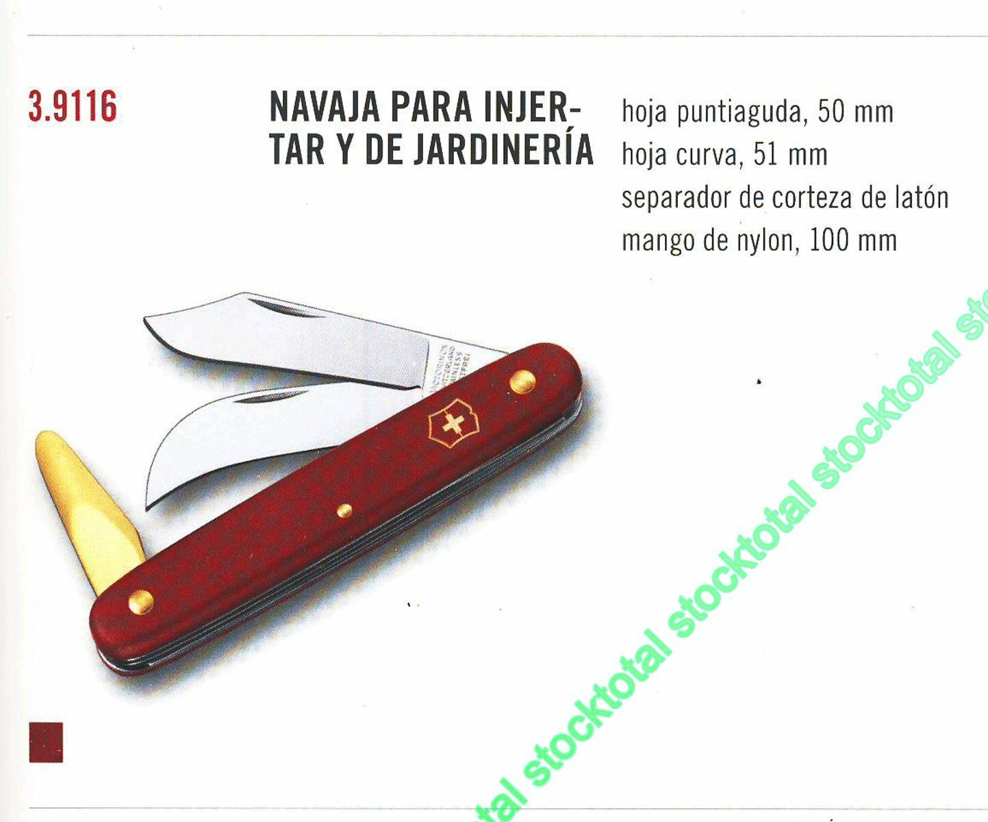 NAVAJA VICTORINOX PARA INJERTAR Y JARDINERIA 39116 3.9116