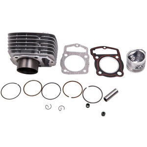 Cylinder Piston Gasket Top End Rebuild Kit For Honda CB125S CL125S XL SL 71-73