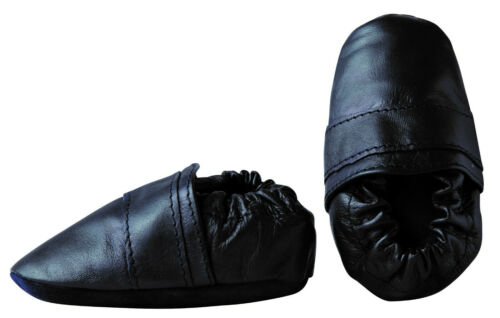 Des chaussons de bébé KRABBELSCHUHE cuir amener du pas de chimie! Lauflernschuhe