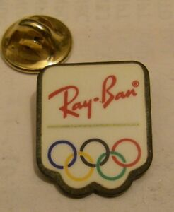 RAY-BAN-OLYMPICS-vintage-pin-badge