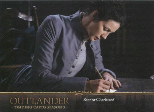 Outlander Season 3 Canvas Base Card #40 Seer or Charlatan?
