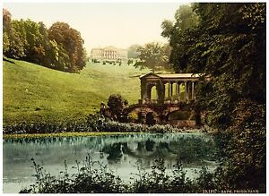 Bath-Prior-Park-College-with-Palladian-Bridge-Vintage-photochrome-print-ca-1890