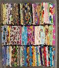 8 X 1/2 yards 100% Cotton Disney Nickelodeon Nintendo Marvel bundle Kids Fabric