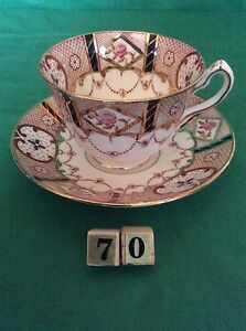 COURT-CHINA-MADE-IN-ENGLAND-CUP-amp-SAUCER