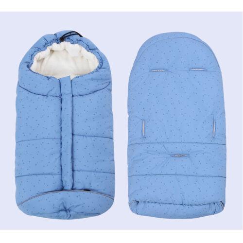 Baby Stroller Pushchair Pram Car Seat Cot Bed Footmuff Sleeping Bag Blanket Cosy