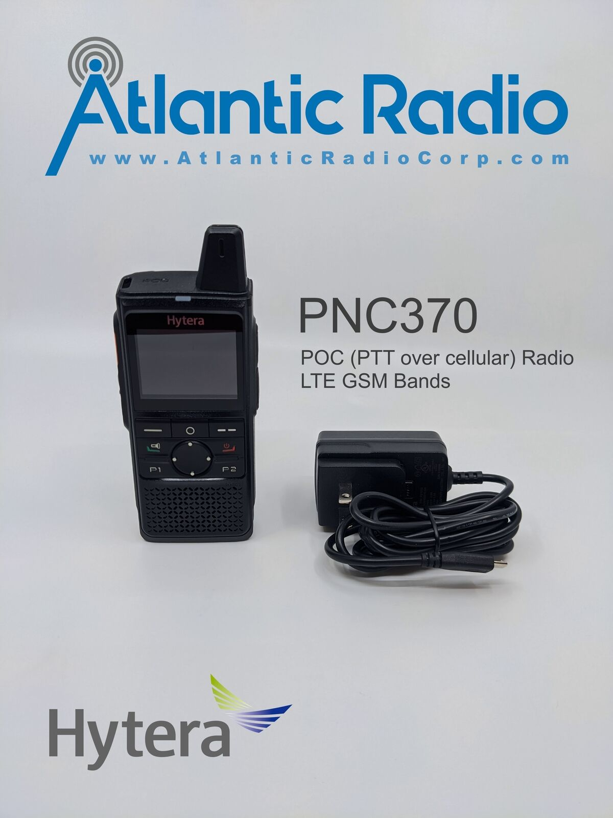 Hytera PNC370 POC PTT over cellular radio uses GSM LTE Bands Android. Available Now for 199.99