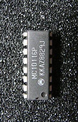 Lot De 2 X Mc10116p Triple Line Receiver Dip16 Fabbriche E Miniere