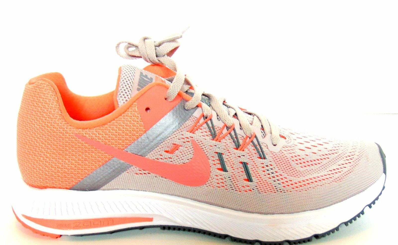 Nike Wmns Zoom Winflo 2 Ash  Gris /Atomic rose-Cool  Gris  Running  Chaussures