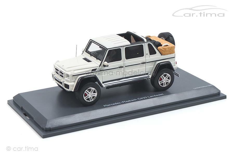 comprar marca Mercedes-Maybach g650-blancoo-roadster 1 43 43 43 - 450900500  descuento