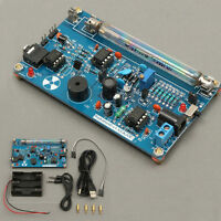 Assembled Diy Geiger Counter Kit Module Miller Tube Gm Tube Nuclear Radiation Us