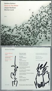 Stefano-Bollani-Jesper-BODILSEN-Morten-Lund-Signed-stone-in-the-water-ECM-CD