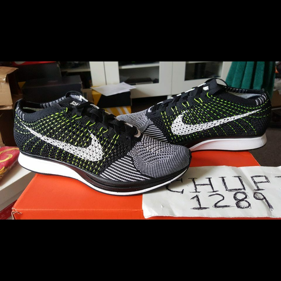 Nike Flyknit Racer Black White Volt 526628-011 HTM Oreo Multicolor Sherbert Seasonal price cuts, discount benefits