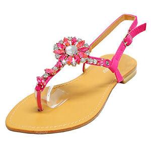 Open Toe Flat Shoes Ebay