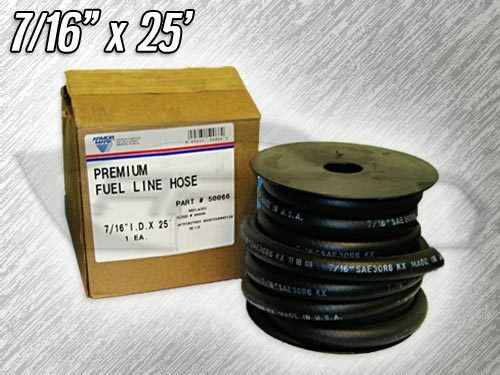 "REPLACES CADNA 50066 ARMOR MARK 50066 FUEL LINE HOSE 7//16/"" ID X 25/'"