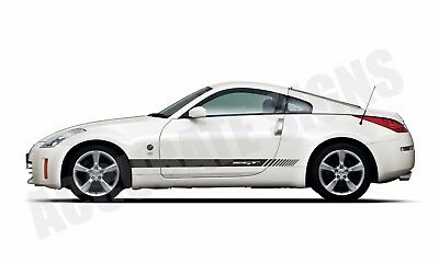 CAR DECALS GRAPHICS DRIFT S14A NISSAN 200SX S14 SIDE STRIPES PAIR