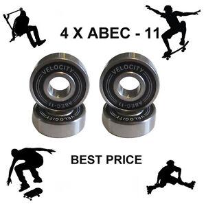 4-Abec-11-608-Rueda-Rodamientos-Patineta-Scooter-Quad-Inline-Roller-Skate-5-7-9