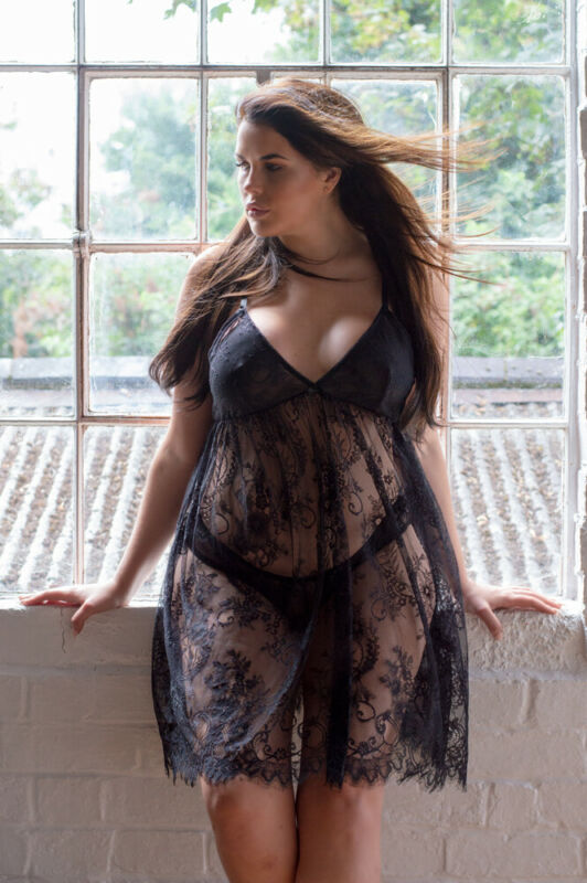 Babydoll Size 22 24 - Perfect4u Curve Nightwear Lace Babydoll Lingerie 22 24