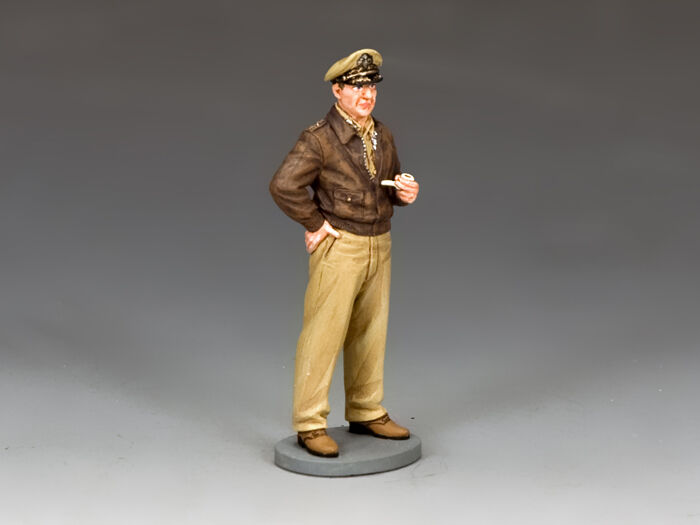 King and Country FOB157  General Douglas MacArthur  Metal Toy Soldier