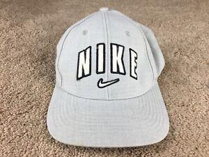 b27ffaf6 Vintage Nike hat Swoosh cap blue Joran rare logo air snapback arch ...